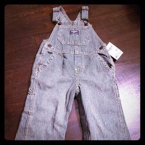 NWT Oshkosh demin overalls